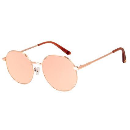 Óculos de Sol Feminino Chilli Beans Redondo Rosé OC.MT.2971-9595