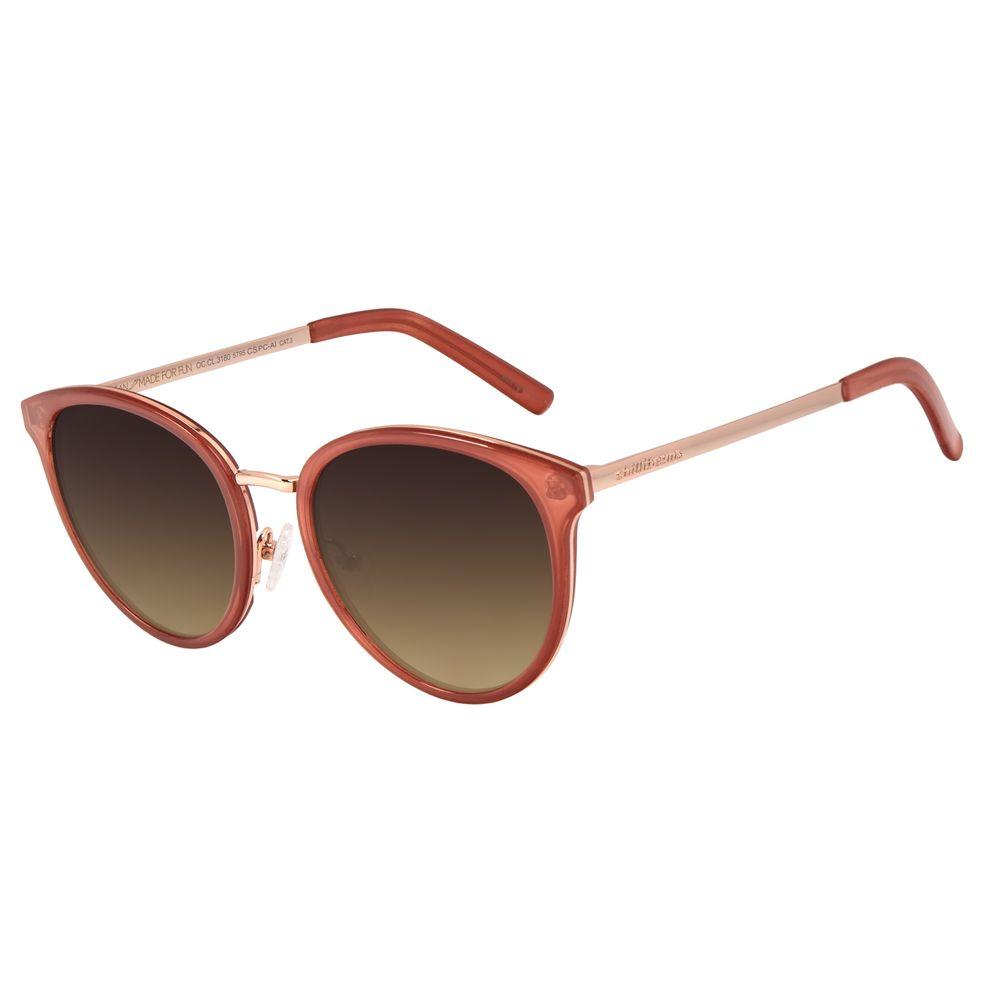 Óculos de Sol Feminino Chilli Beans Basic Redondo Rosé OC.CL.3180-5795