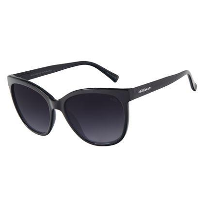 Óculos de Sol Feminino Chilli Beans Classic Quadrado Preto OC.CL.3192-0101