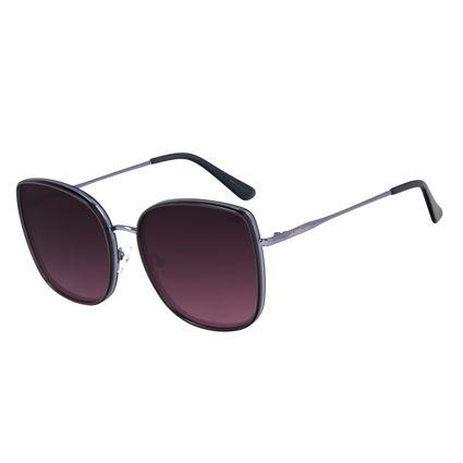 Óculos de Sol Feminino Chilli Beans Quadrado Basic Roxo OC.CL.3194-1401