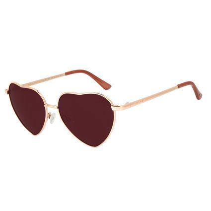 Óculos de Sol Feminino Lollapalooza Love Rosé OC.MT.2970-1695