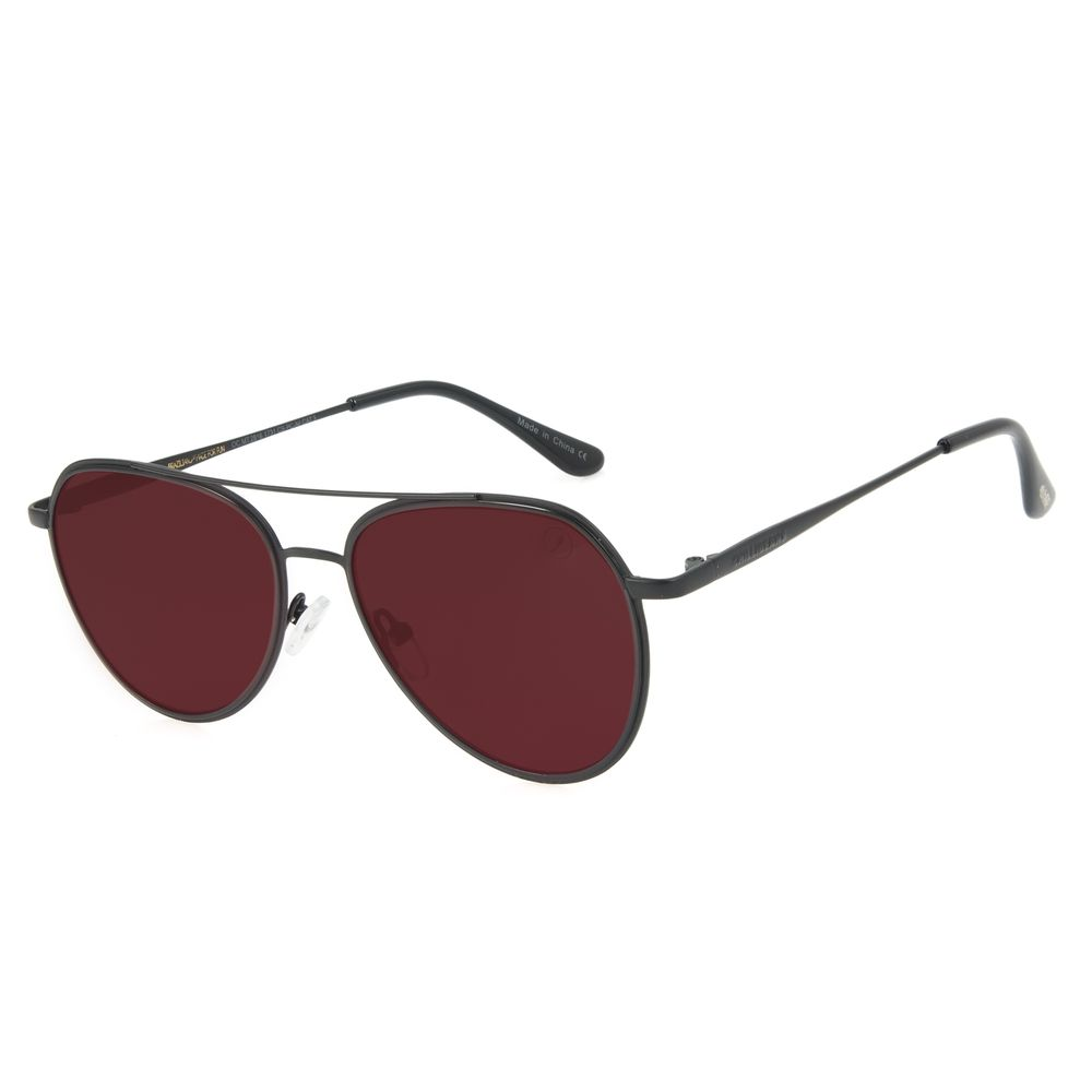 Óculos de Sol Unissex Lollapalooza Brasil Lollaviator Aviador Fosco OC.MT.2816-1731