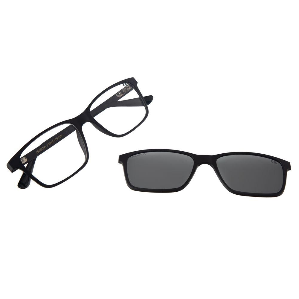 Armação Para Óculos De Grau Masculino Chilli Beans Multi Marrom LV.MU.0232-0402