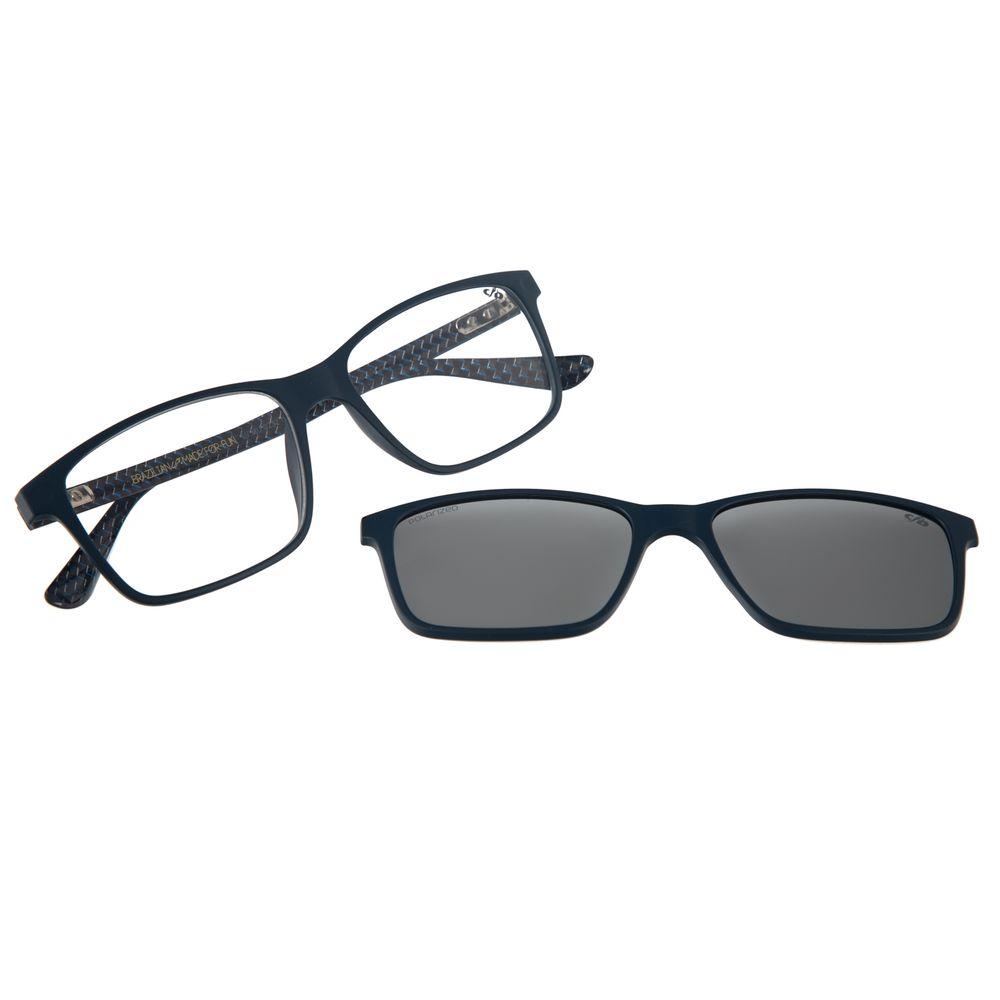 Armação Para Óculos De Grau Masculino Chilli Beans Multi Azul LV.MU.0232-0408