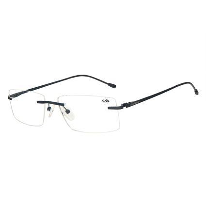 Armação Para Óculos de Grau Masculino Chilli Beans Titânio 3 Peças Preto LV.MT.0481-0101