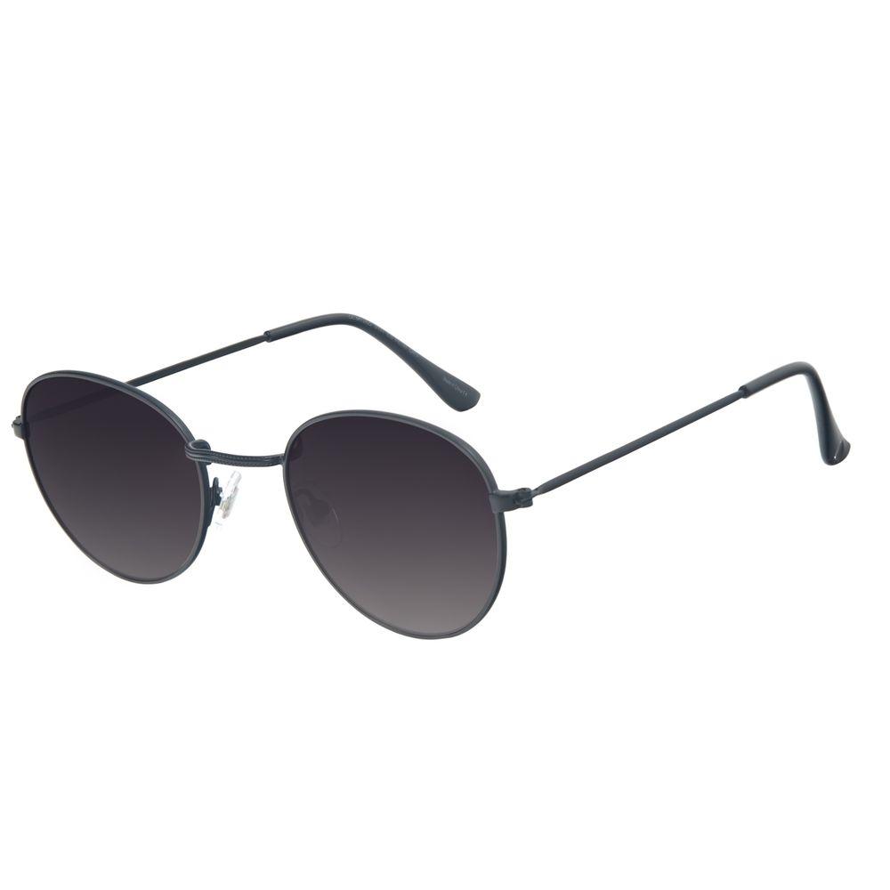 Óculos de Sol Unissex Chilli Beans Essential Redondo Metal Fosco OC.MT.2822-0131