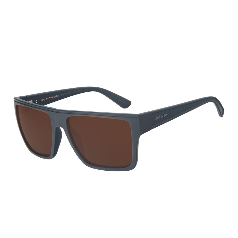 Óculos de Sol Unissex Chilli Beans Essential Bossa Nova Marrom Polarizado OC.CL.3075-0231