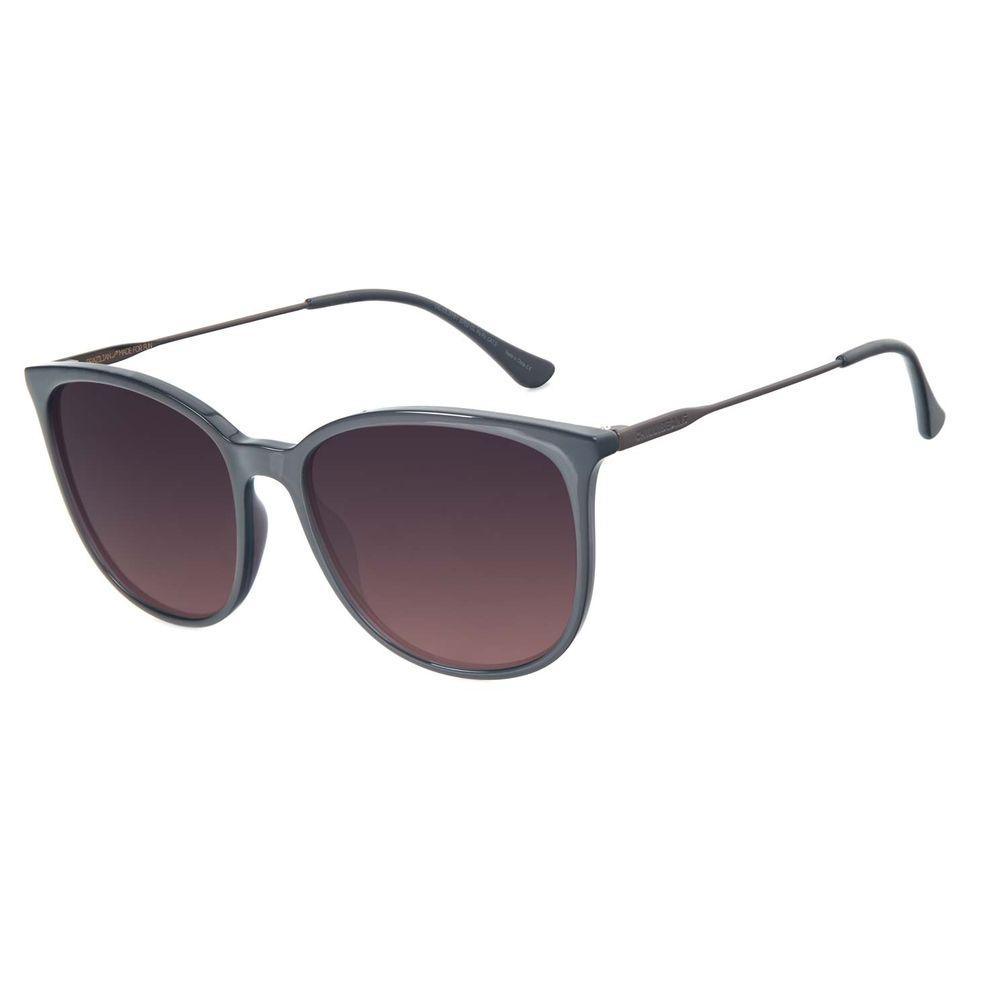 Óculos de Sol Feminino Chilli Beans Redondo Degradê Marrom OC.CL.3187-5702