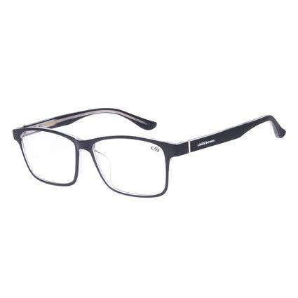 Armação Para Óculos de Grau Masculino Chilli Beans Retangular Preto LV.IJ.0175-0101