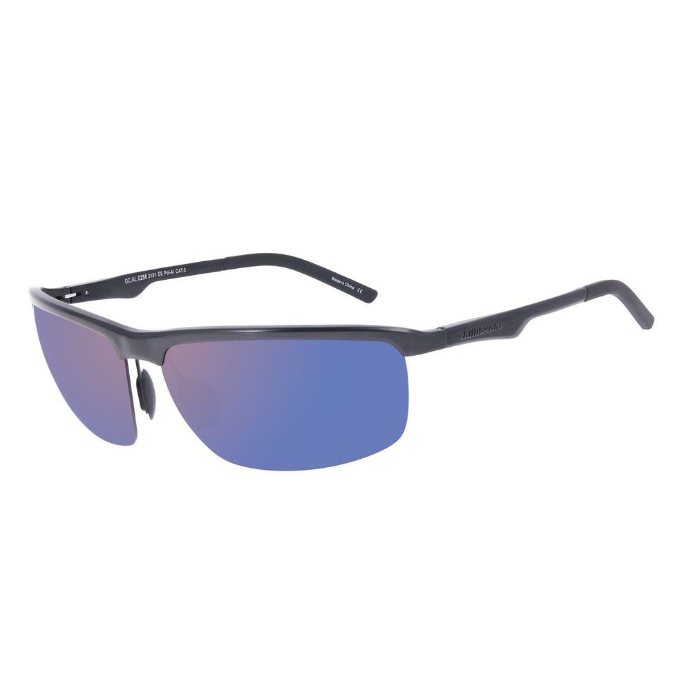 Óculos de Sol Masculino Chilli Beans Fl utuante Preto PolarizadoOC.AL.0256-0101