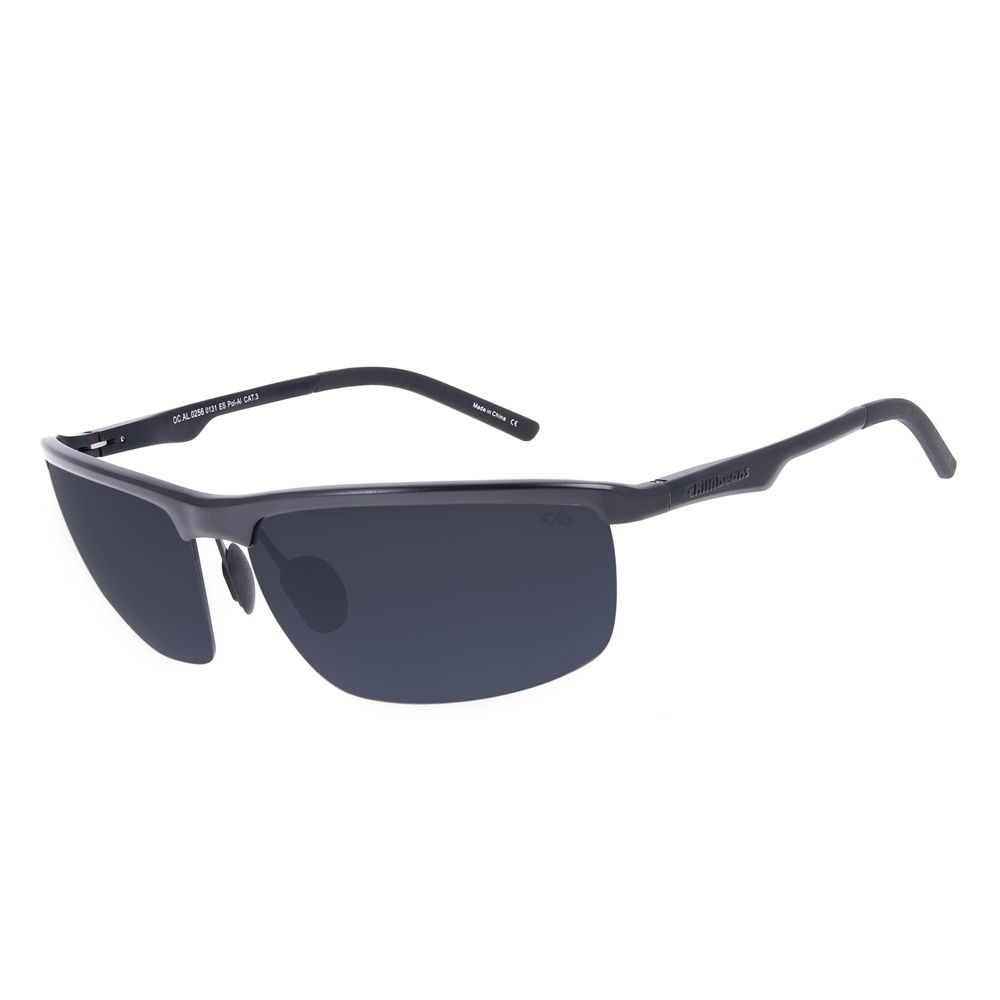 Óculos de Sol Masculino Chilli Beans Flutuante Fosco Polarizado OC.AL.0256-0131