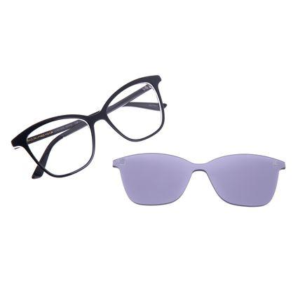 Armação Para Óculos De Grau Feminino Chilli Beans Multi Cat Preto LV.MU.0353-0501
