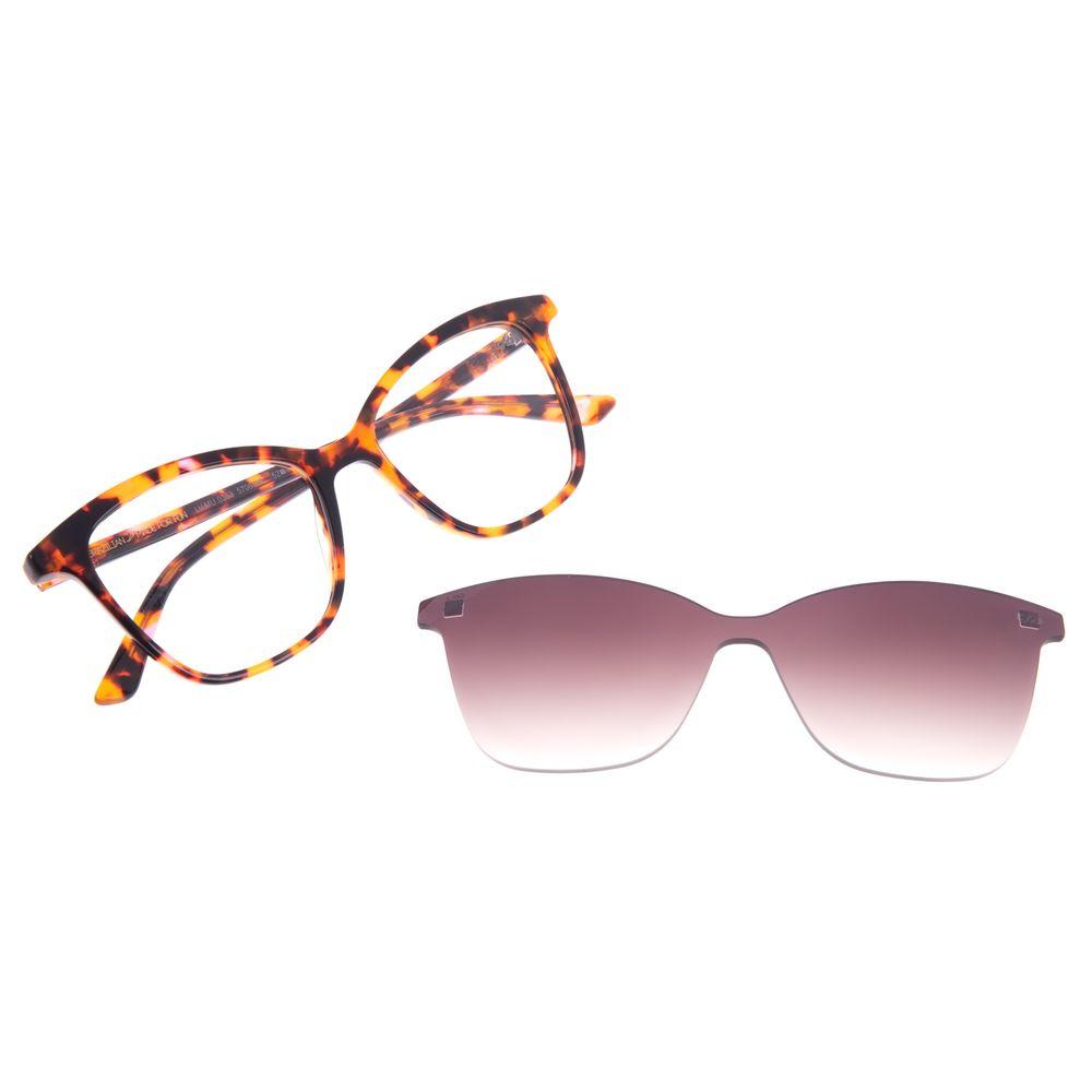 Armação Para Óculos De Grau Feminino Chilli Beans Multi Tartaruga Cat LV.MU.0353-5706