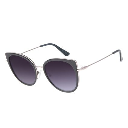 Óculos de Sol Feminino Chilli Beans Redondo Preto OC.CL.3095-2001