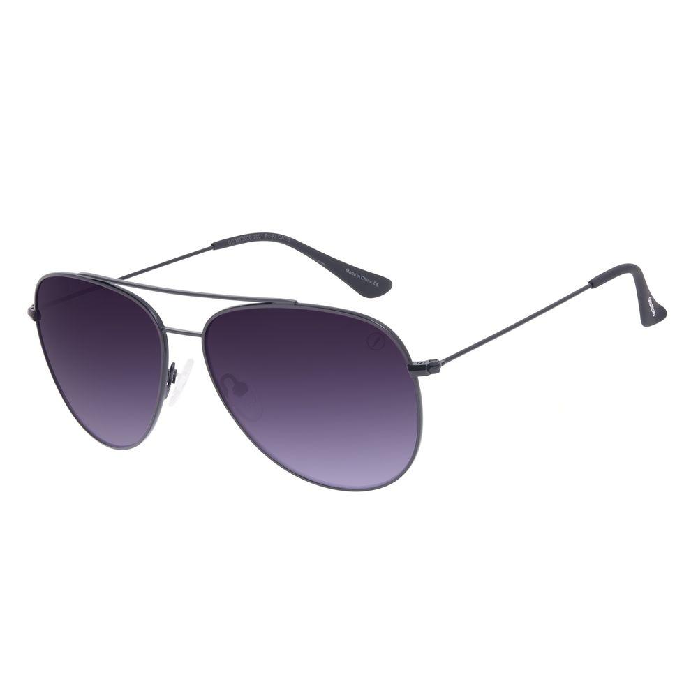 Óculos de Sol Unissex Chilli Beans Metal Aviador Preto OC.MT.3020-2001