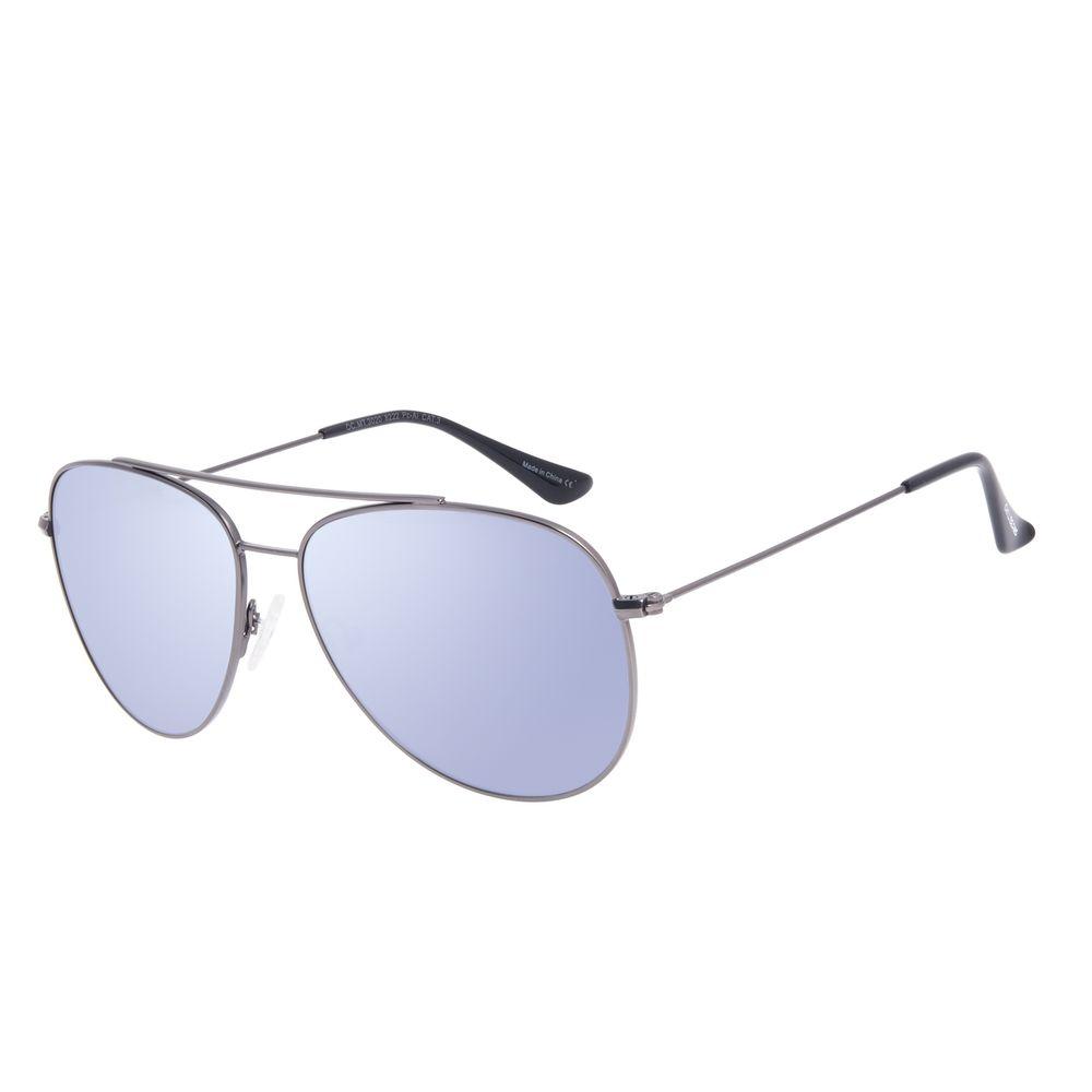 Óculos de Sol Unissex Chilli Beans Metal Aviador Ônix OC.MT.3020-8222