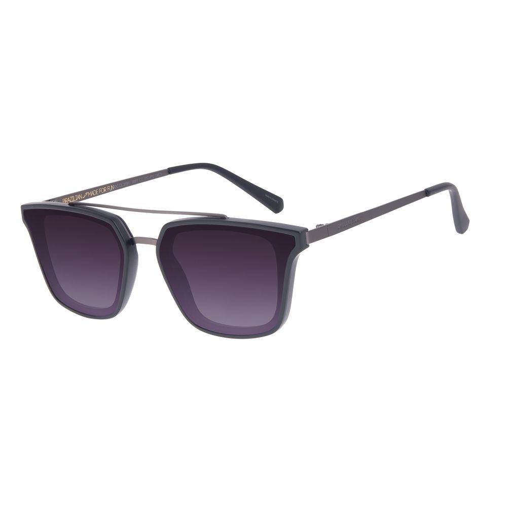 Óculos de Sol Masculino Chilli Beans Quadrado Degradê Preto OC.CL.3191-2001
