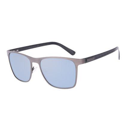 Óculos de Sol Masculino Chilli Beans Quadrado Metal Casual Ônix OC.MT.2968-0022