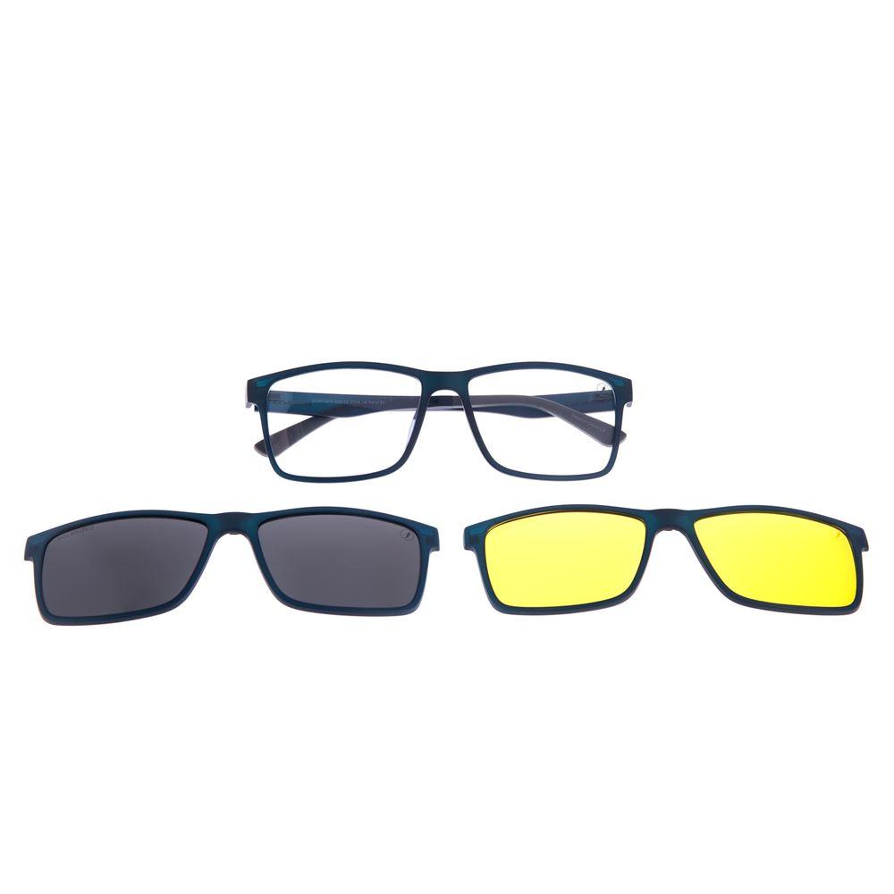 Armação Para Óculos de Grau Unissex Chilli Beans Multi 3 em 1 Azul LV.MU.0514-0208