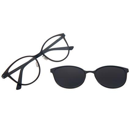 Armação Para Óculos de Grau Feminino Chilli Beans Multi Polarizado Cinza LV.MU.0515-2004