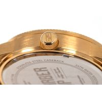 Relógio Analógico Masculino Barber Shop Metal Dourado RE.MT.1088-2121.7