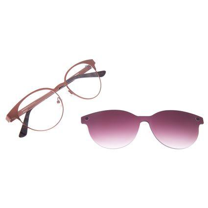 Armação Para Óculos de Grau Feminino Chilli Beans Multi Metal Cobre LV.MU.0198-2039