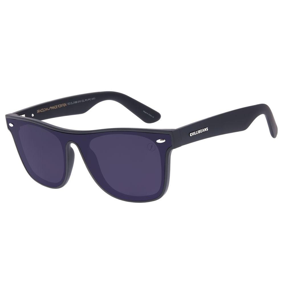 Óculos de Sol Masculino Chilli Beans Bossa Nova Preto OC.CL.3189-0701