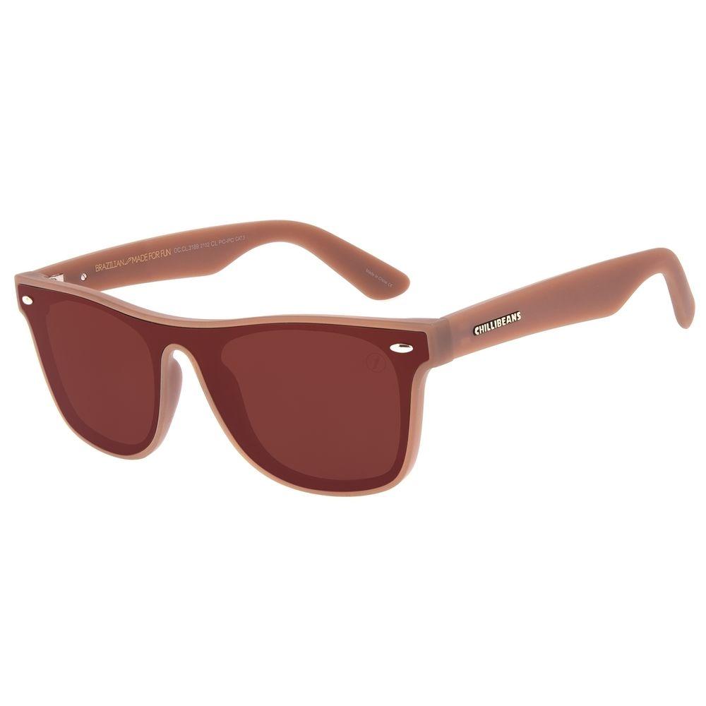 Óculos de Sol Masculino Chilli Beans Bossa Nova Marrom OC.CL.3189-2102