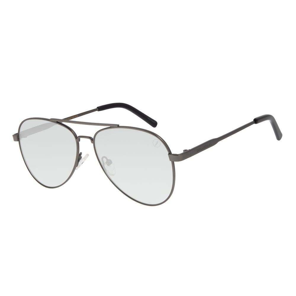 Óculos de Sol Unissex Color Match Classic Design Ônix OC.MT.3033-0122