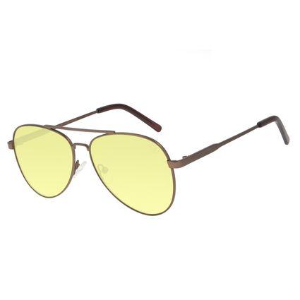 Óculos de Sol Unissex Color Match Classic Design Verde OC.MT.3033-1521
