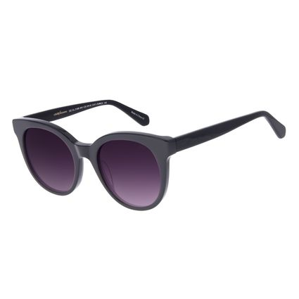 Óculos de Sol Feminino Chilli Beans Redondo Preto OC.CL.3199-2001