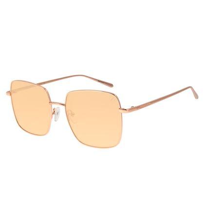 Óculos de Sol Feminino Color Match Banhado a Ouro Rosé OC.MT.3032-0295