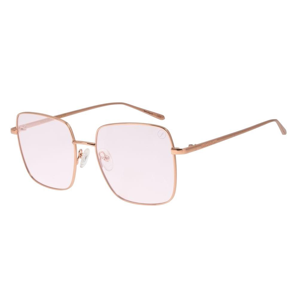 Óculos de Sol Feminino Color Match Banhado a Ouro Roxo OC.MT.3032-1495