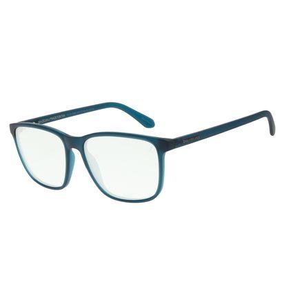 Óculos de Sol Masculino Color Match Quadrado Azul OC.CL.3208-0108