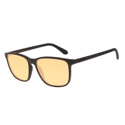 Óculos de Sol Masculino Color Match Quadrado Marrom OC.CL.3208-0202