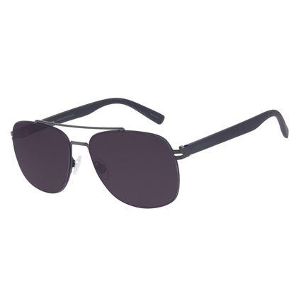 Óculos de Sol Masculino Chilli Beans Executivo Metal Fosco OC.MT.3015-0131