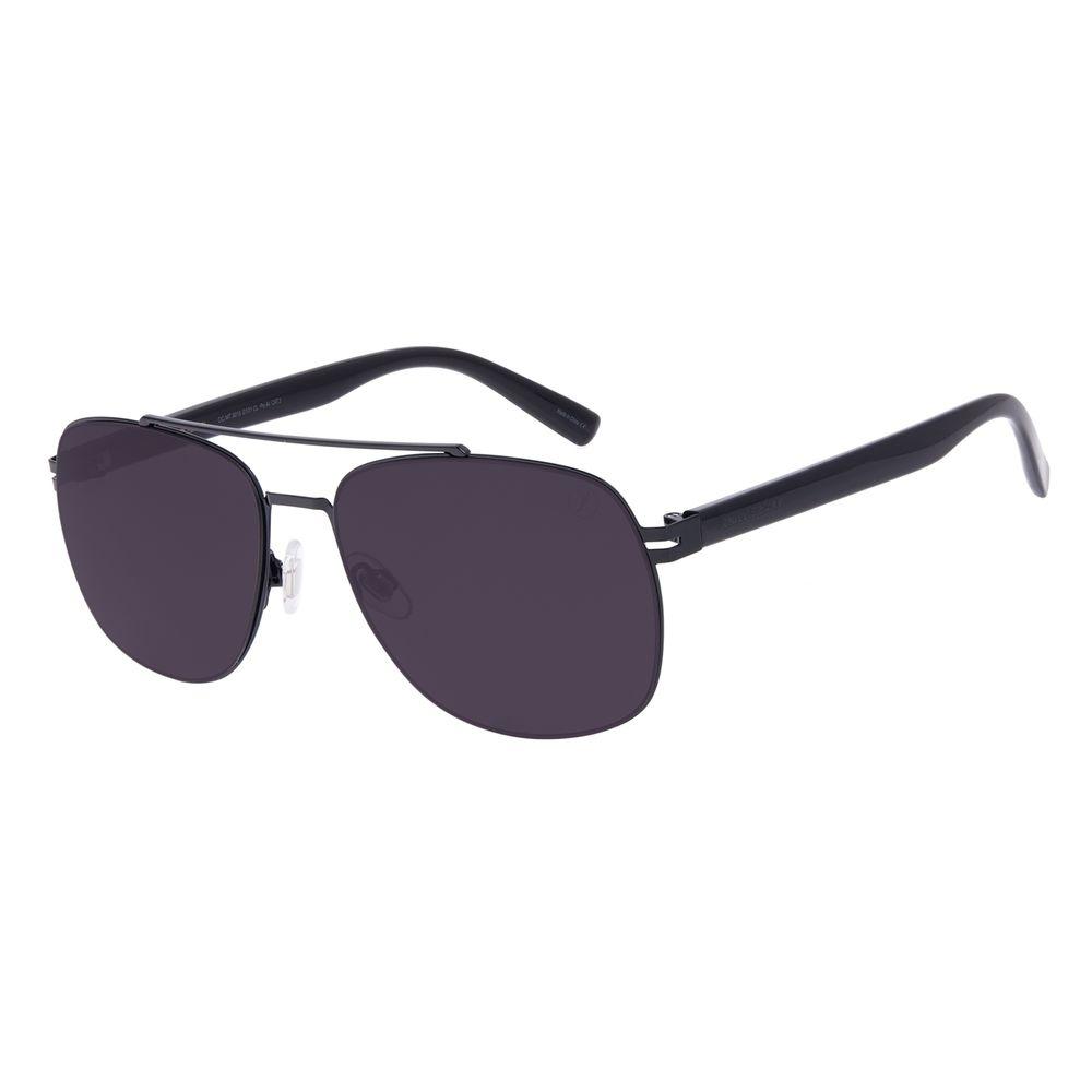 Óculos de Sol Masculino Chilli Beans Executivo Metal Preto OC.MT.3015-0101