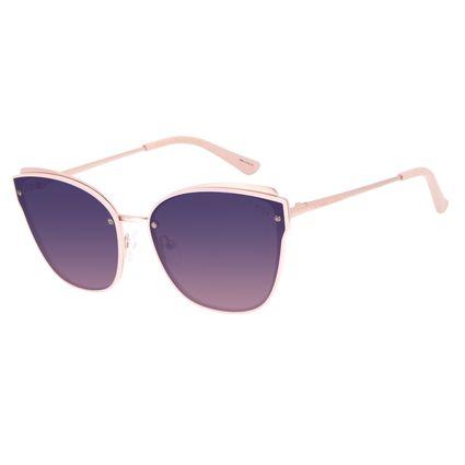 Óculos de Sol Feminino Chilli Beans Casual Cat Rosé OC.MT.2902-9595