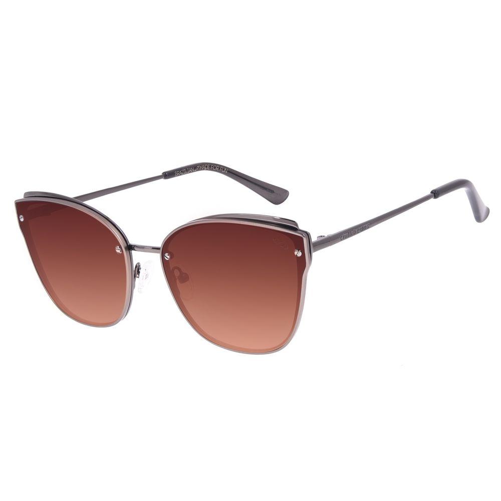 Óculos de Sol Feminino Chilli Beans Casual Cat Ônix OC.MT.2902-5722