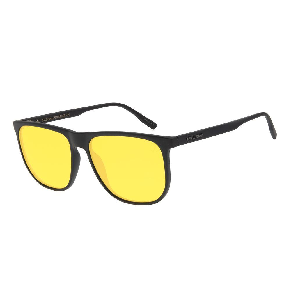 Óculos de Sol Masculino Color Match Quadrado Verde OC.CL.3209-1501