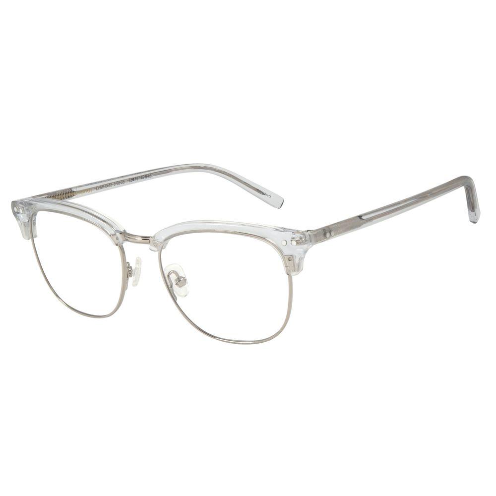 Armação Para Óculos de Grau Unissex Chilli Beans Transparente LV.MT.0418-0736