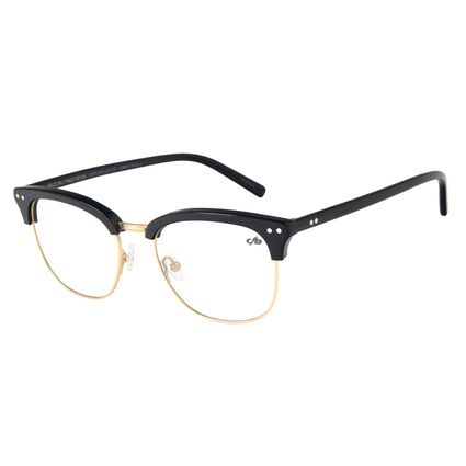 Armação Para Óculos de Grau Unissex Chilli Beans Preto LV.MT.0418-2101