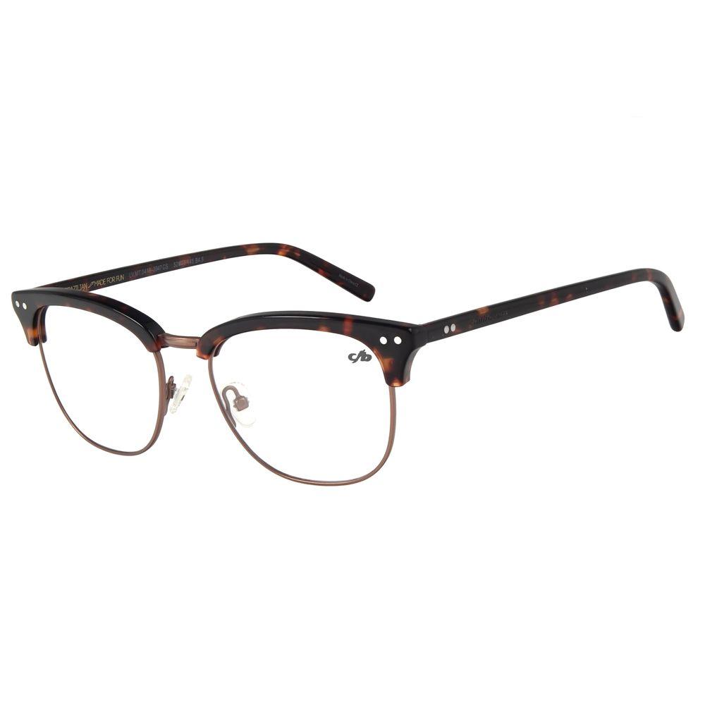 Armação Para Óculos de Grau Unissex Chilli Beans Marrom Escuro LV.MT.0418-3947