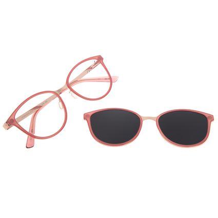Armação Para Óculos de Grau Feminino Chilli Beans Multi Polarizado Rosé LV.MU.0515-5795