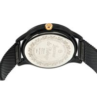 Relógio Analógico Feminino Loucuras da Nobreza Cleópatra Metal Preto RE.MT.1154-2201.6