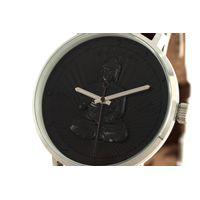 Relógio Analógico Unissex Loucuras da Nobreza Buda Marrom RE.CR.0465-0102.5