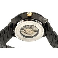 Relógio Automático Masculino Loucuras da Nobreza Luís XIV Rei Sol Ônix  RE.MT.1145-2222.7