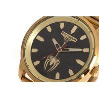 Relógio Analógico Masculino Marvel Homem Aranha Dourado RE.MT.1148-2221.5