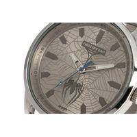 Relógio Analógico Masculino Marvel Homem Aranha Prata RE.MT.1148-0707.5