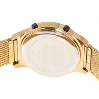 Relógio Digital Feminino Marvel Pantera Negra Dourado RE.MT.1140-2121.6